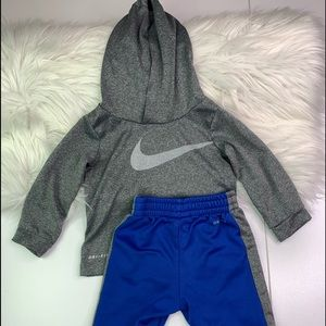 Nike Baby Boy Long Sleeve Top & Joggers